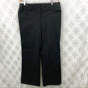 Lane Bryant Stretch Gray Boot Cut Pants